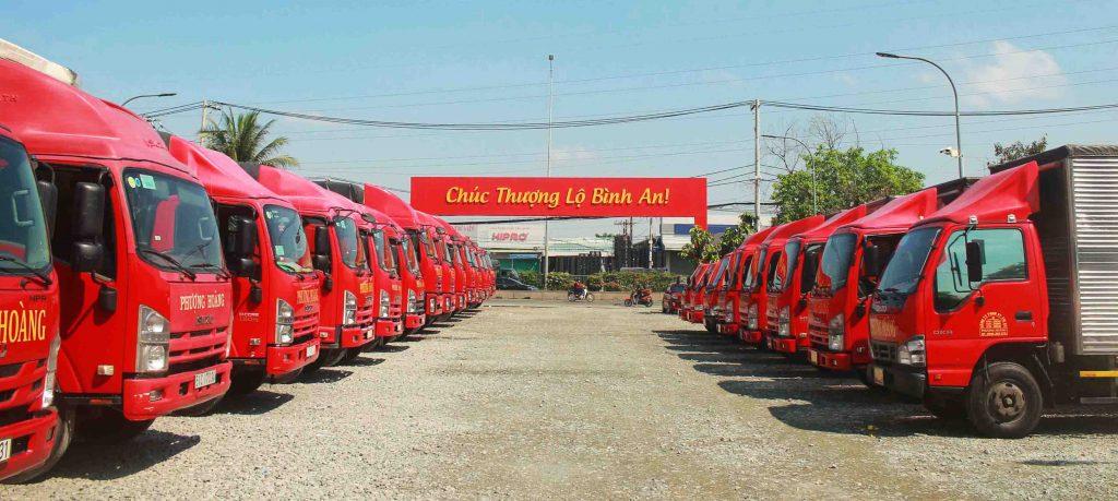 xe tải chở hàng Sài Gòn về Quy Nhơn