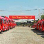 Xe tải chở hàng từ Sài Gòn về Quy Nhơn